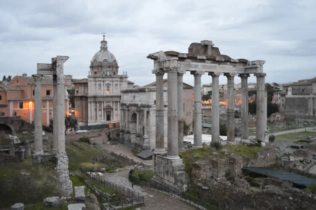 Rome: The Palatine Hill & Roman Forum