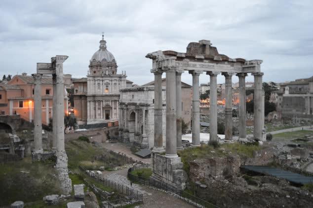 Rome: The Palatine Hill & Roman Forum
