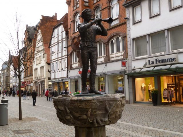 The Pied Piper of Hamelin, Germany